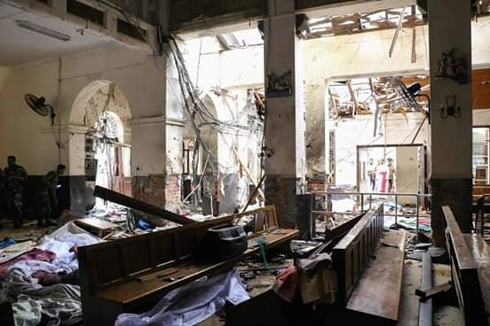 Ataque terrorista a cristianos en Sri Lanka dejó 207 muertos y 450 resultaron heridas.
