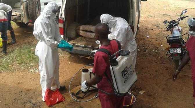 En medio del brote de Ébola, ADRA trabaja para garantizar la alimentación de los niños desnutridos.