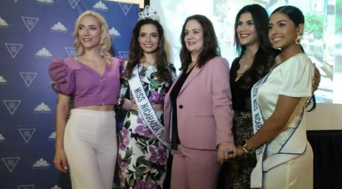 Casting para Miss Nicaragua será el próximo 13 de marzo.