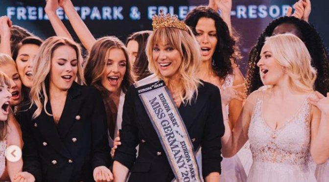 Miss Alemania rompe los estereotipos: 35 años, madre, casada y empresaria.