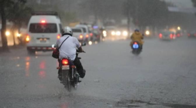 Frente frío causará lluvias en Nicaragua.