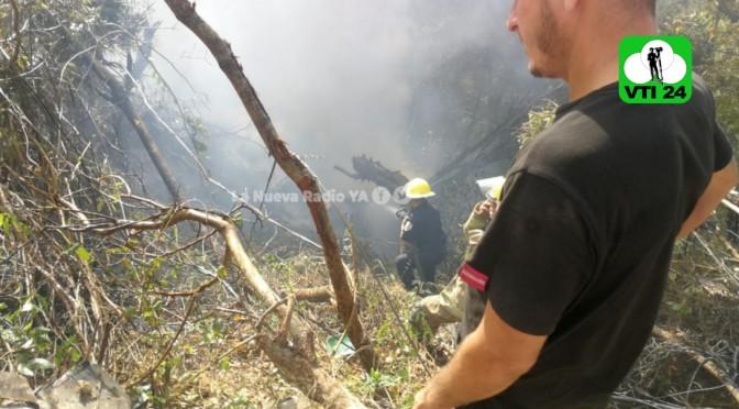 Padre y su hijastro mueren quemados en accidente de tránsito, en Chontales.