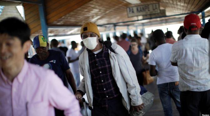 La OPS pide cautela ante el aumento de casos en Latinoamérica.