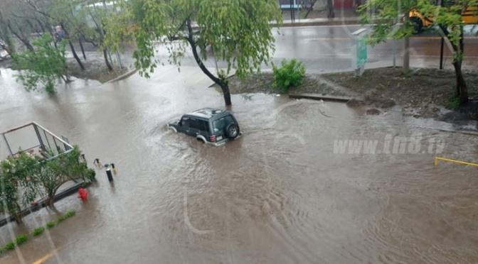 Fuerte lluvia deja afectaciones en algunas viviendas de Estelí.
