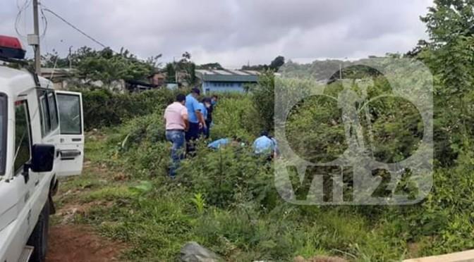 Niña es encontrada asesinada en La Libertad, Chontales.
