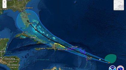 Emiten advertencia de tormenta tropical para Puerto Rico.