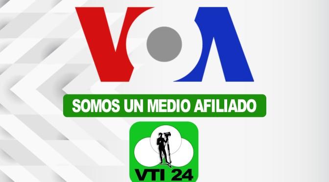 VTI 24 firma un acuerdo de afiliación con La Voz de América.