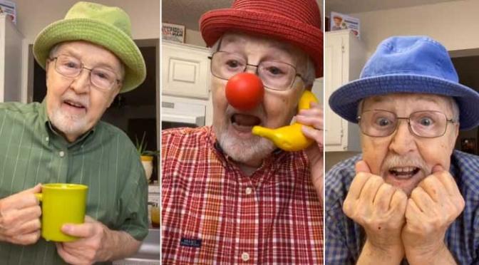 Abuelito de 81 años conquista Tik Tok con recetas de cocina.