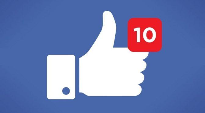 ¿Adiós a los 'likes'? Facebook retira botón 'Me gusta' de páginas públicas.