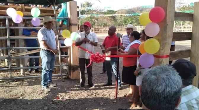 INAUGURAN BARRERA COMUNITARIA EN PUERTO DÍAZ, CHONTALES.