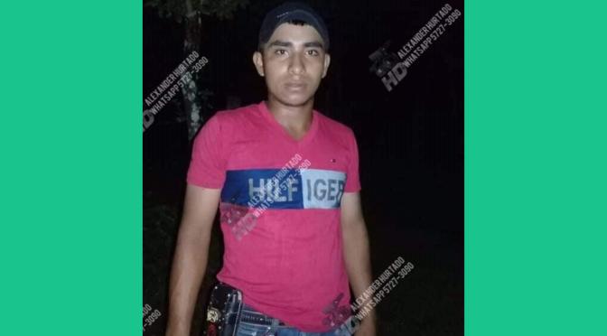 Joven es asesinado a machetazos en comarca Pilan, municipio de El Ayote.
