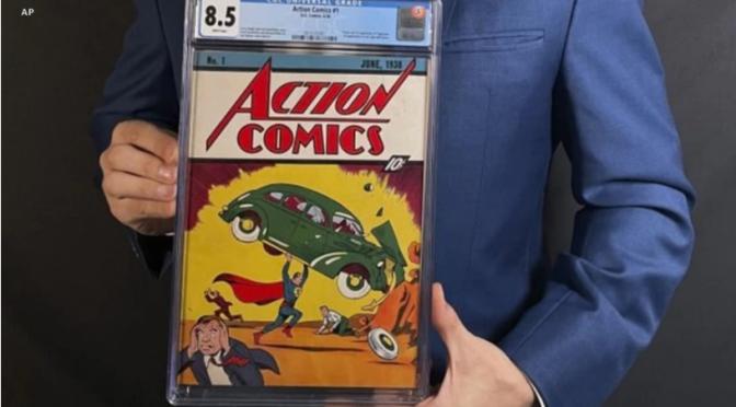 Copia de primera edición de Superman vendida por 3,25 millones de dólares