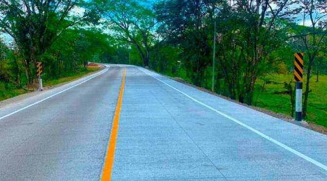 Inauguran carretera de concreto hidráulico en el casco urbano de Siuna.