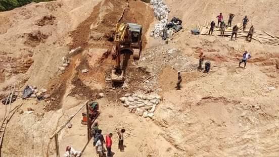 Derrumbe cobra la vida de minero artesanal en Río San Juan.