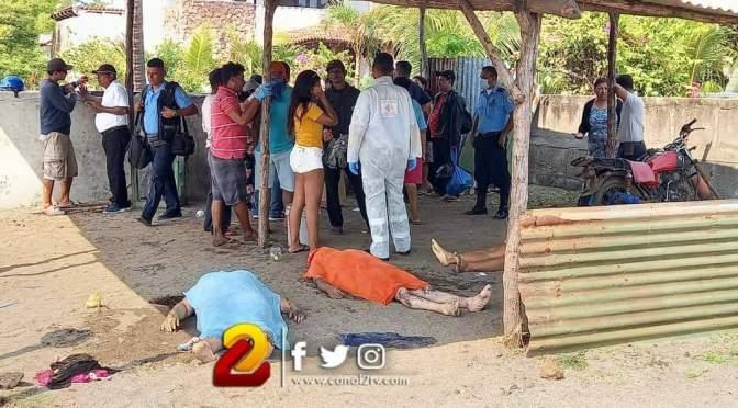 Tres miembros de una familia perecen ahogados en Poneloya, León.