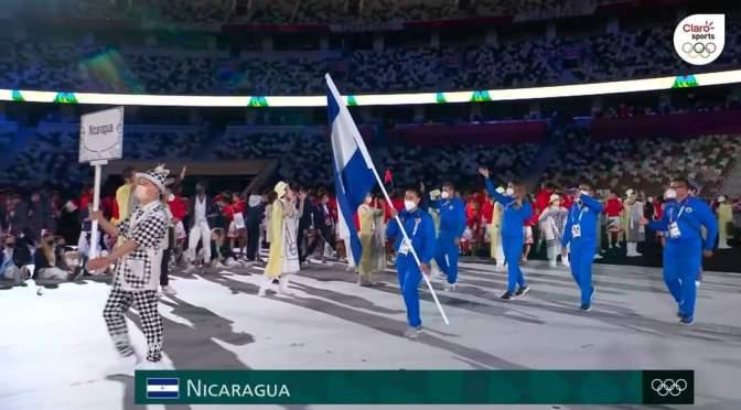NICARAGUA PRESENTE EN LOS JUEGOS OLÍMPICOS TOKYO 2020.