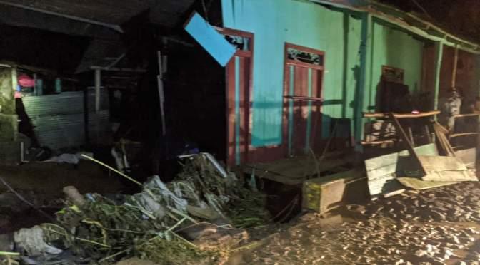 Un menor fallecido y casas inundadas tras fuertes lluvias en Santo Domingo, Chontales.