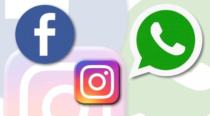 Usuarios reportan fallas en servicio de Facebook, WhatsApp e Instagram