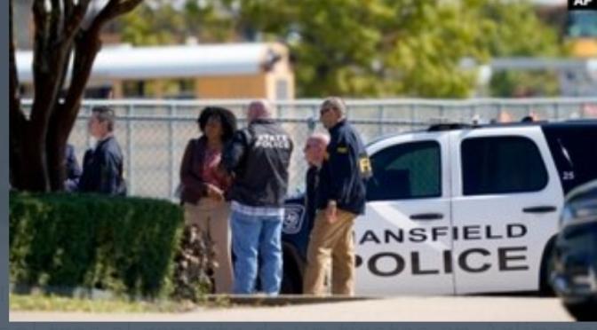 Tiroteo en escuela secundaria de Texas deja 4 heridos